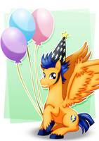 Flash Sentry_Happy Birthday by jotakaanimation