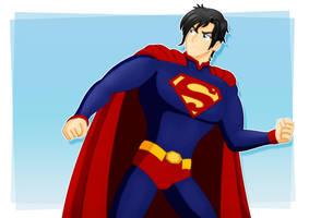 Superman_80 years by jotakaanimation