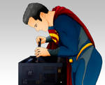 Henry Cavill/Superman building a Gaming PC