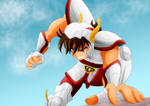 Seiya_Action Pose