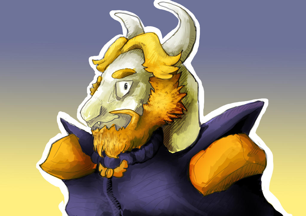 Asgore Dreemurr by MilchTheMagicDragon
