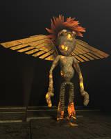 Boy Phoenix by Krodil