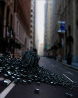 Compositing of cubes by Krodil
