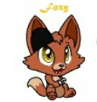 baby foxy by Zoymomo123