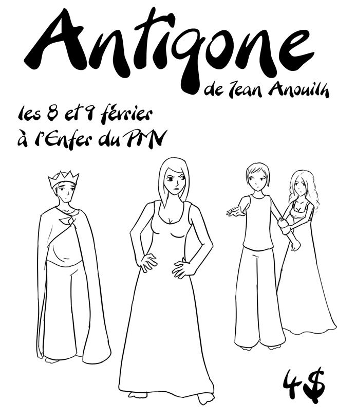 Antigone play posters