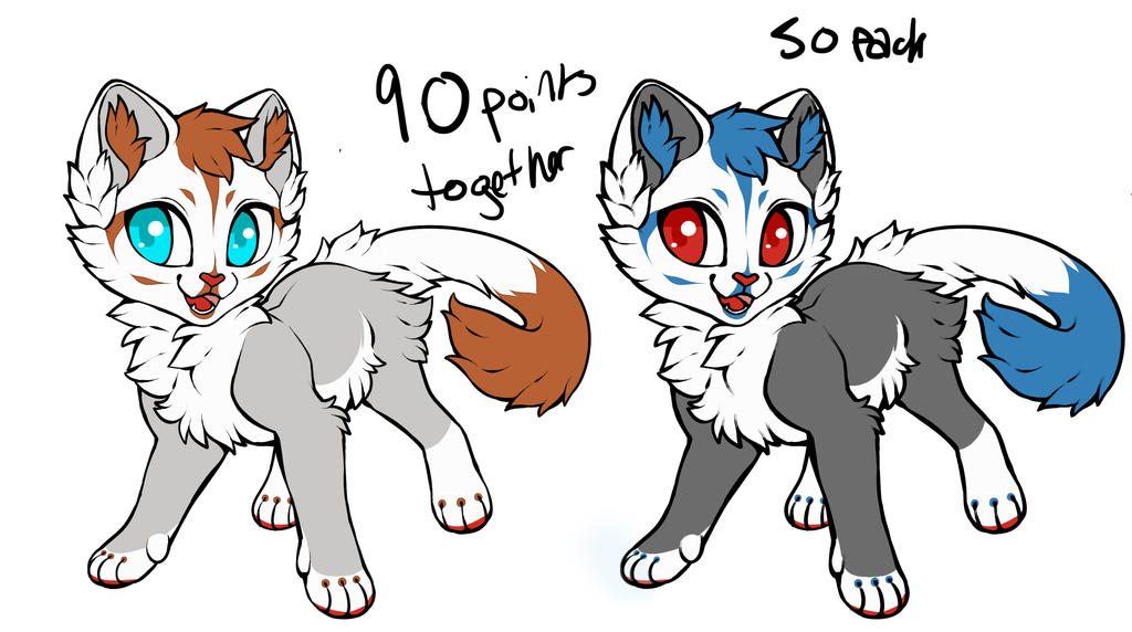Twin Adopts by L0ST-Mutt