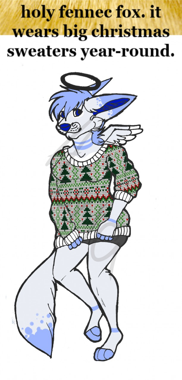 ADOPT: Fennec Girl by Padded-Paws
