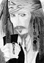 Captain Jack Sparrow by lohziviani
