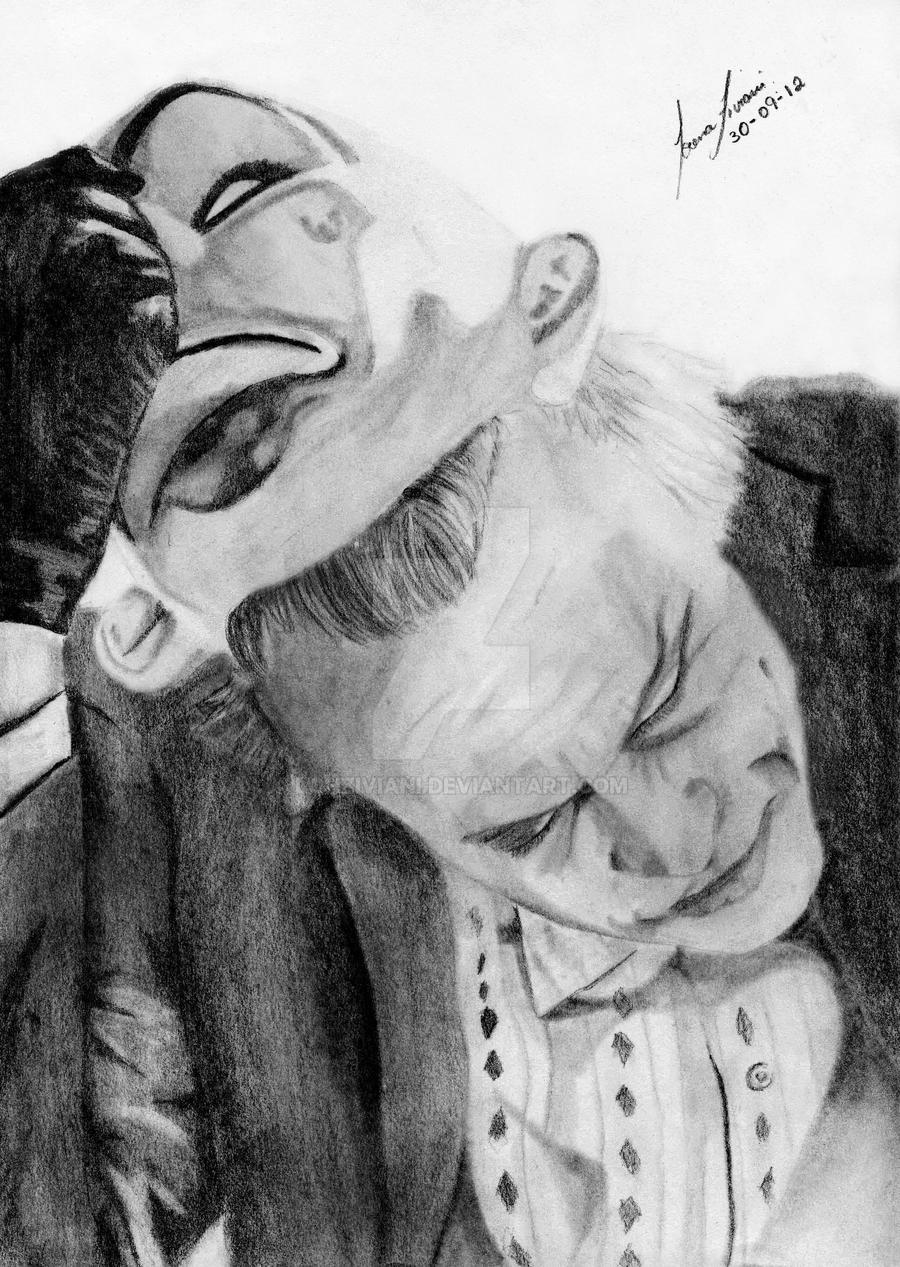 Joker - heath ledger by lohziviani