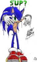 Sonic Grafitti by Clutch45