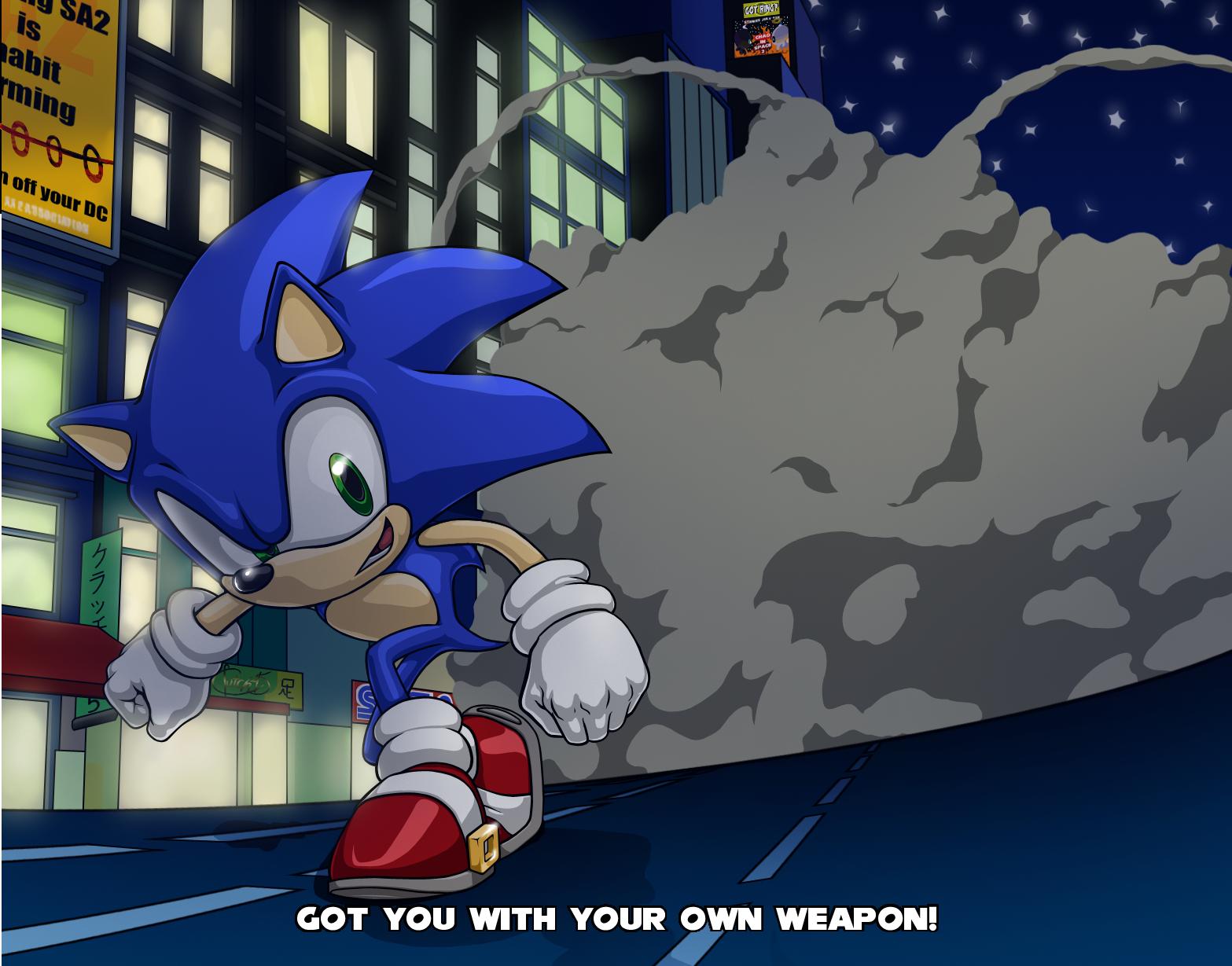 Sonic x by Clutch45