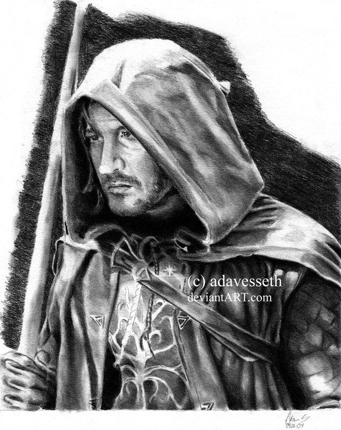 Ranger of Gondor by adavesseth
