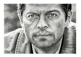 Supernatural : Castiel by adavesseth
