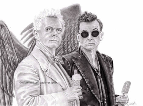 Good Omens: We're on our own side