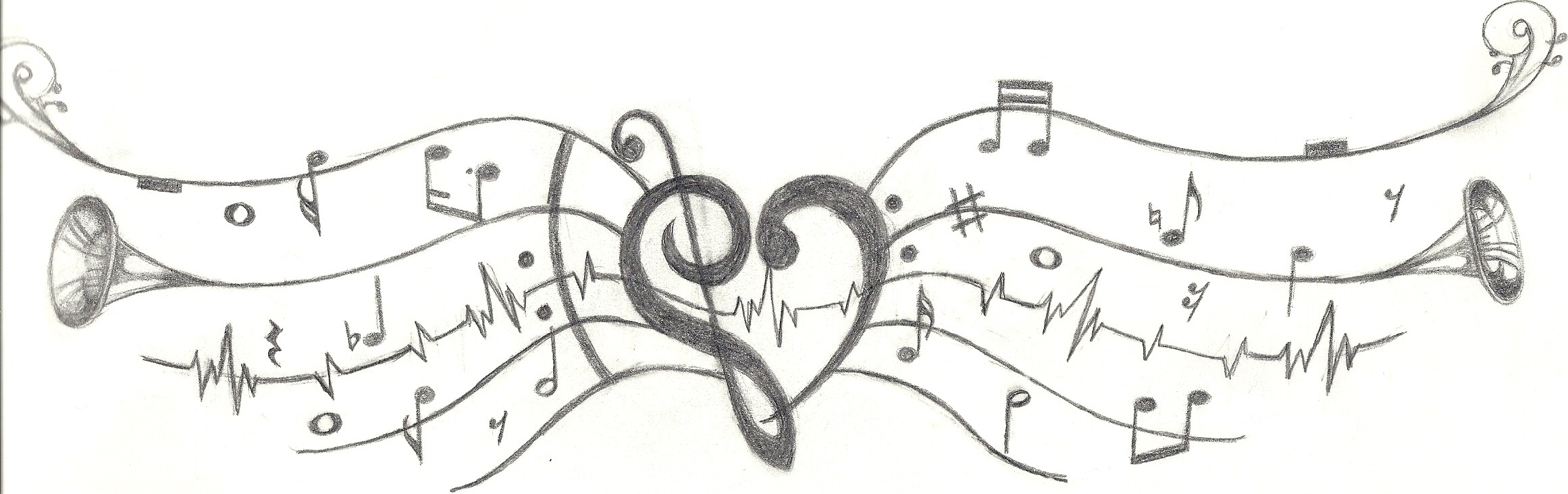 Music Makes The Heart Soar by starblu314