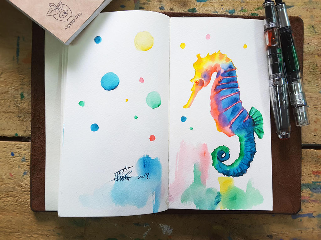 sea horse by TingChieh