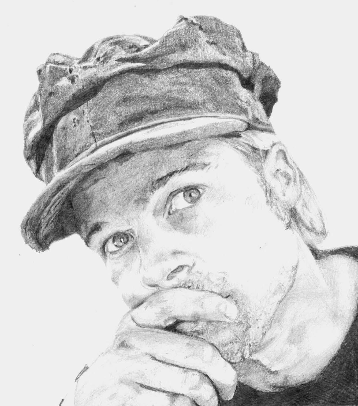 White Celebrity Drawings