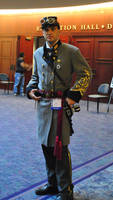 Steampunk Confederate