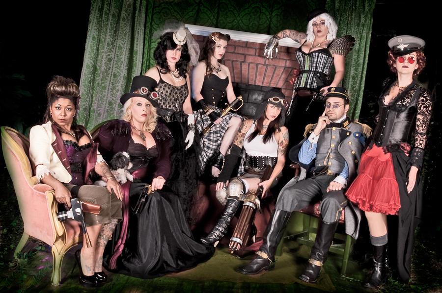 Charleston Steampunk Group Photo by Challenger70TA