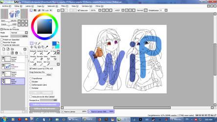 Un WIP OkiKari... Trabajo en proceso by CarlaSalujaMagiVCYY