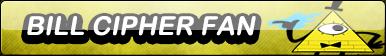 Bill Cipher Fan Button by sinh95