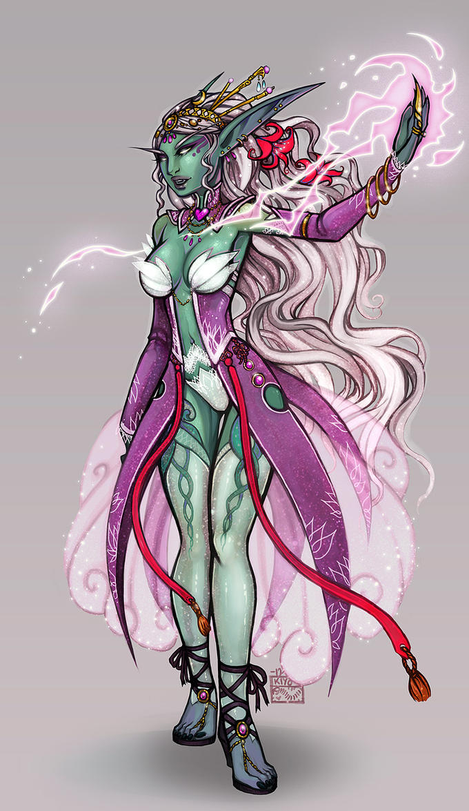 Queen Azshara by kiyo