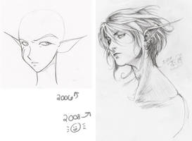Two Years Apart by kentuski