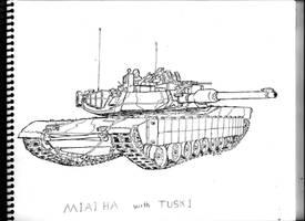 M1A1 HA by BROKENHILL