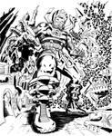 Galactus brings  Doom