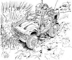 I.E.D  M-ATV by BROKENHILL
