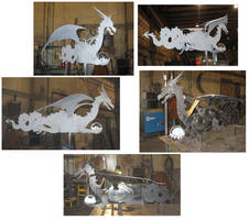 Steel Dragon WeatherVane