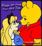 Winnie the Pooh and Alice Too by DisneyDaleMunk