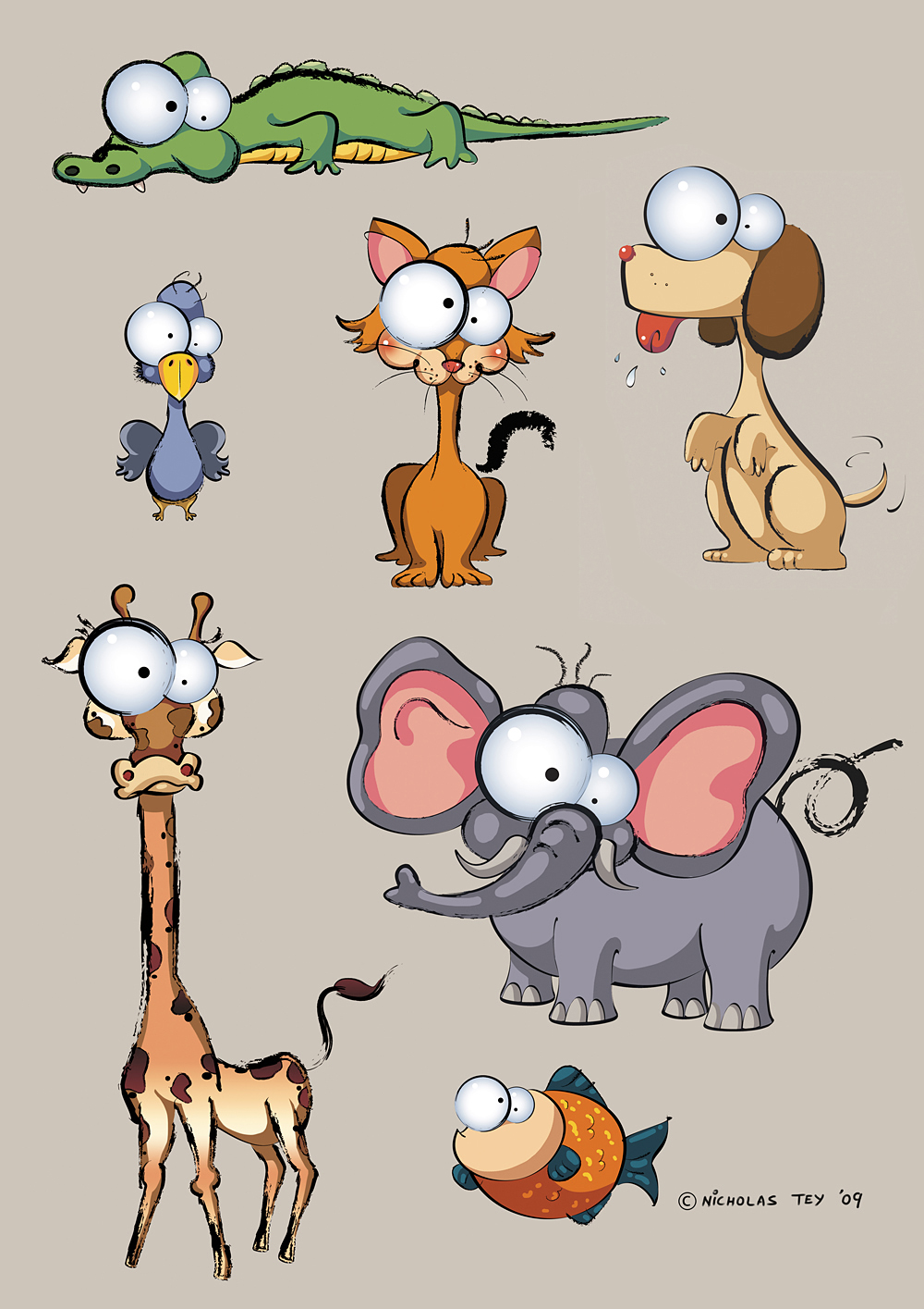 ABC Animals by nictey