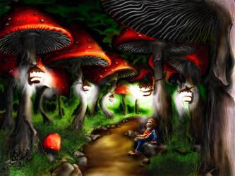 The Dwarf Forest by oczku