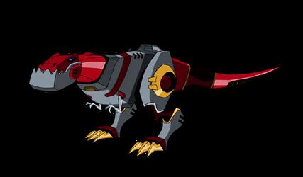 Dinozord Grimlock - COLOR EDIT