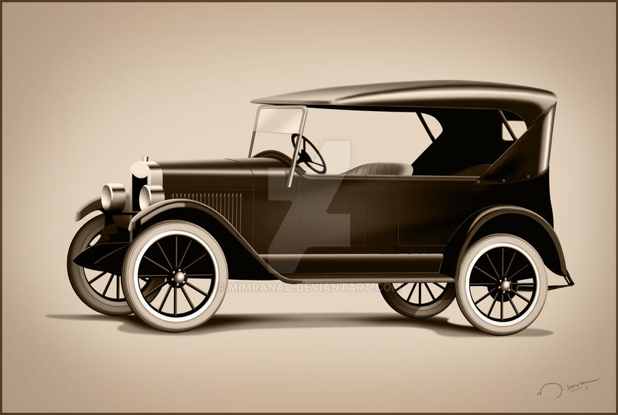 First Ever Car >> 1911 First Chevrolet Car by mimranad on DeviantArt