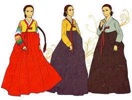 Women's Hanbok Color