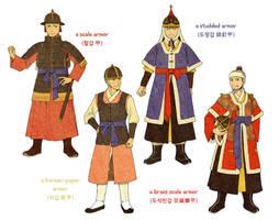 Joseon Dynasty Armors