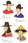 Joseon Men's Hats 4