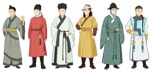 Men's Chinese Clothes