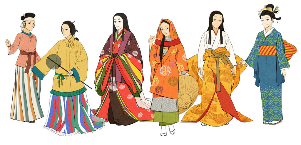 Women's Japanese Clothes by Glimja