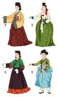 Joseon Dynasty Ladies