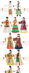 Hanbok Story 6 by Glimja