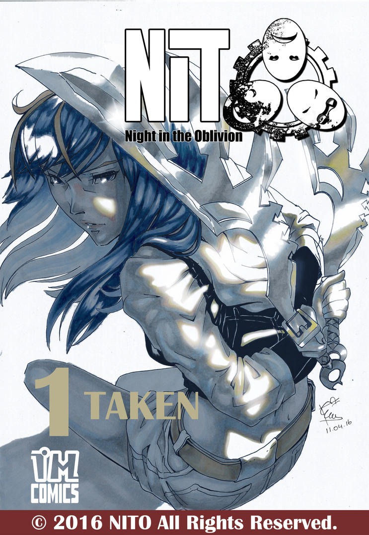 NEW Cover for NITO Volume 1 by SageCOMIC