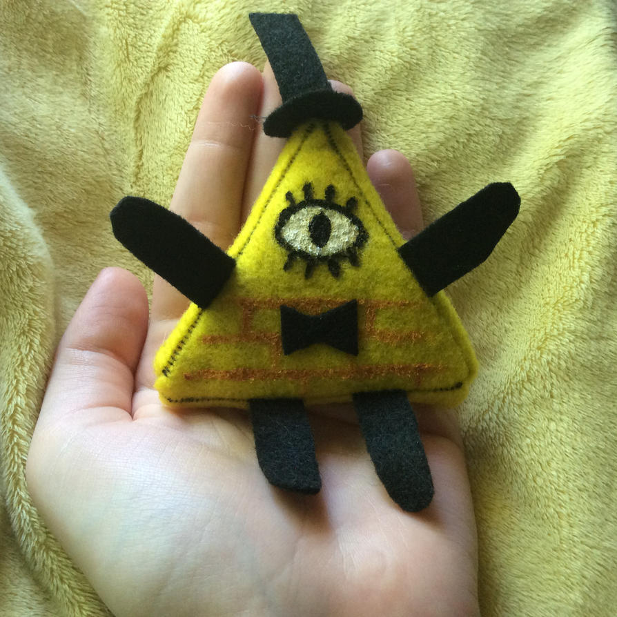 Small Bill Cipher Plush by LoriBirdy1999