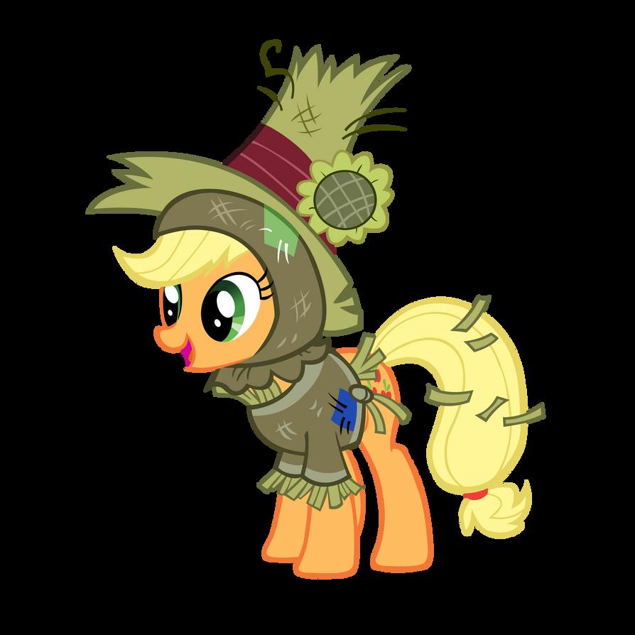 Scarecrow Applejack - Did I Skeered Ya? by star-burn