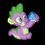 Spike's Birthday Cupcake