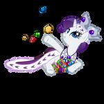 Princess Rarity and her Treasure