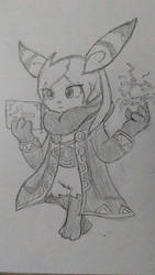 A little try at female Robinstic by ChipMasterX