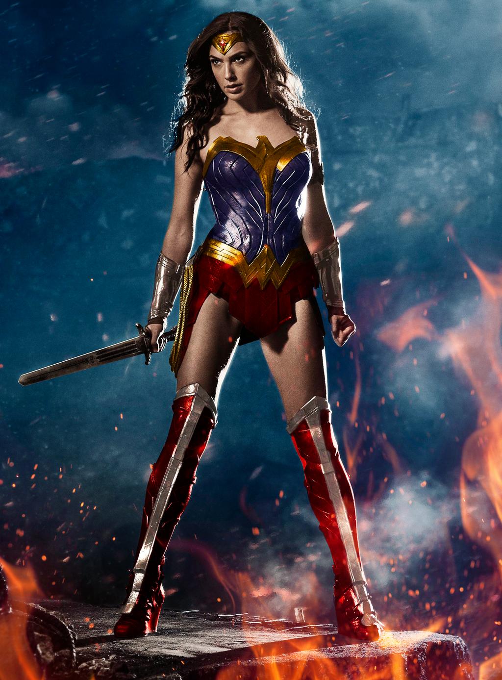 Wonder Woman's Costume | Gal Gadot | Changed by Alex ...